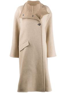 Acne Studios A-line wrap coat