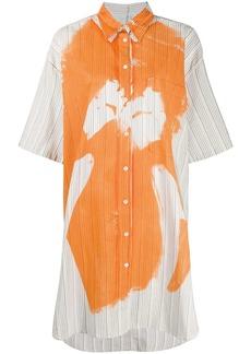 Acne Studios magazine-print shirt dress
