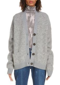Acne Studios Acne Studio Rives Wool & Mohair Blend Cardigan