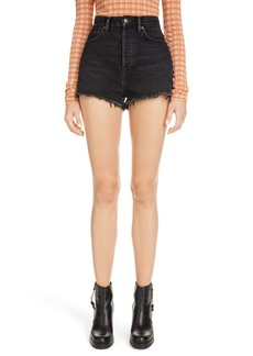 Acne Studios 1990 High Waist Denim Shorts