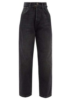 Acne Studios 1991 Toj belted high-rise wide leg jeans