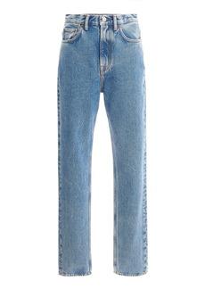 Acne Studios 1995 Rigid High-Rise Slim-Leg Jeans