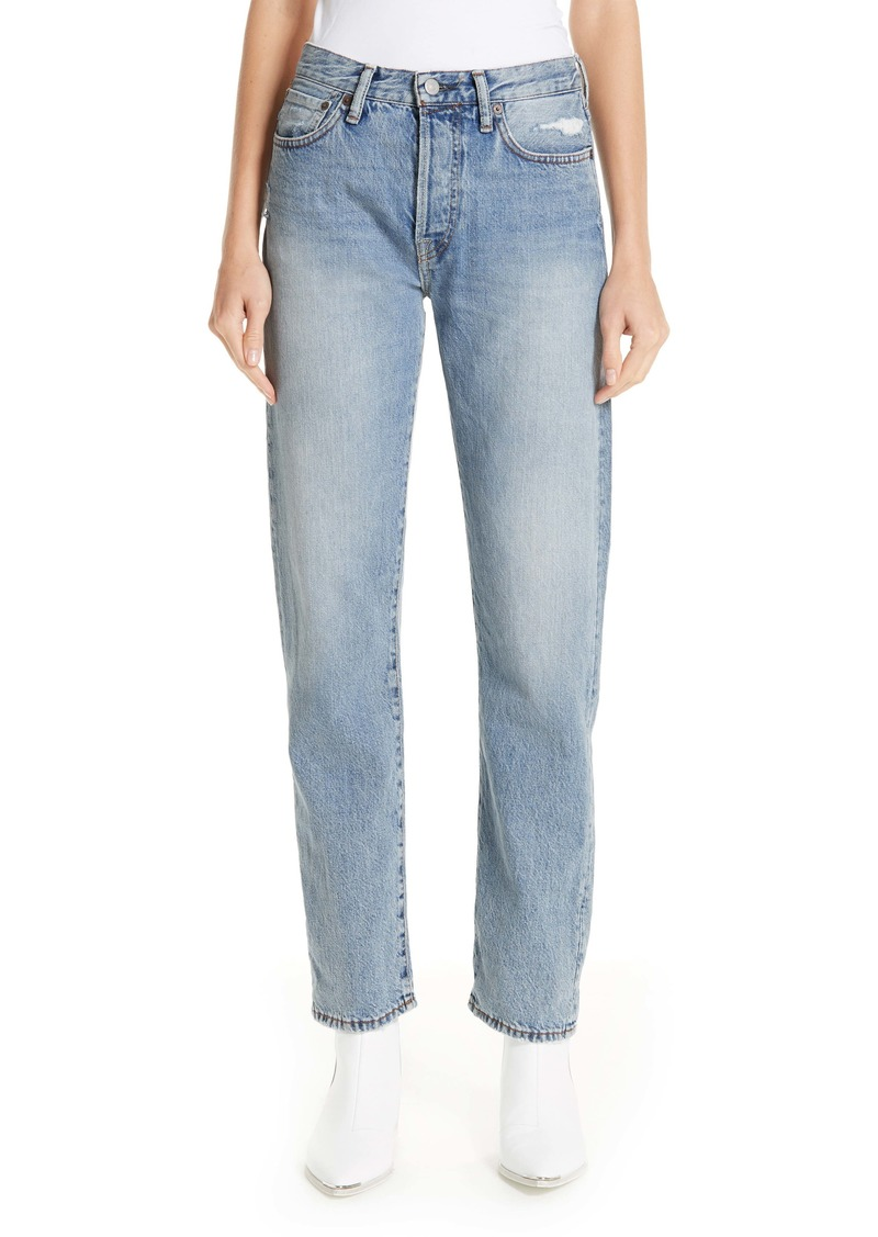 Acne Studios 1997 Straight Leg Jeans (Light Blue)