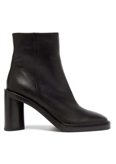 Acne Studios Booker square-toe leather ankle boots