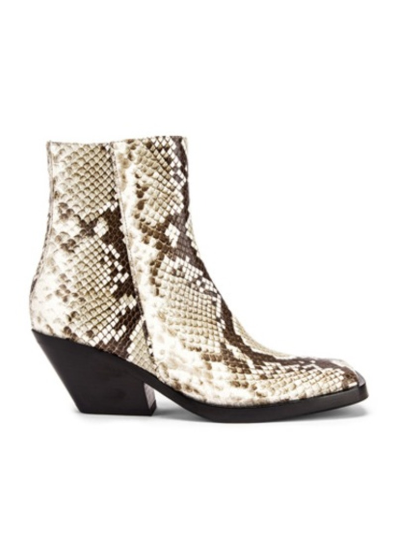 Acne Studios Braxton Snake Boots
