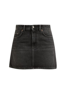 Acne Studios Caitlyn denim mini-skirt