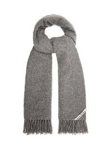 Acne Studios Canada fringe-trimmed wool scarf