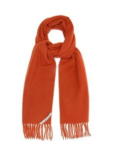 Acne Studios Canada Narrow skinny wool scarf