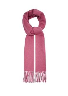 Acne Studios Canada Narrow tasselled wool scarf