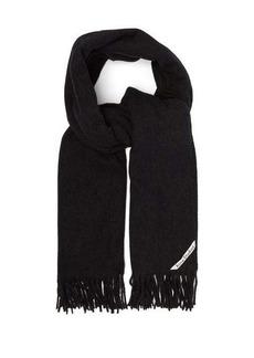 Acne Studios Canada New fringed wool scarf