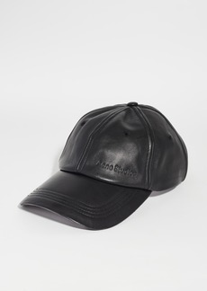 Acne Studios Carliy Leather Cap