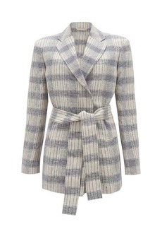 Acne Studios Checked belted blazer