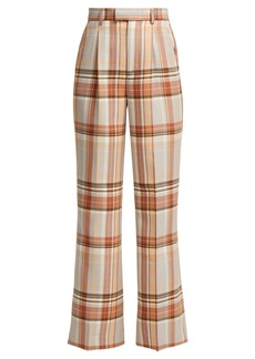 Acne Studios Checked cool-blend trousers