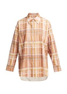 Acne Studios Checked cotton shirt