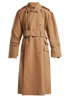 Acne Studios Cotton-gabardine trench coat