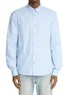 Acne Studios Cotton Poplin Button-Down Shirt