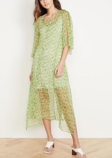 Acne Studios Dagny Silk Chiffon Dress