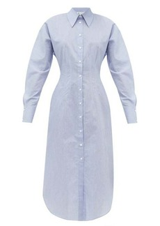 Acne Studios Danette cotton-blend shirt dress