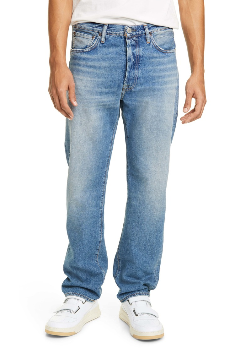 Acne Studios Distressed Jeans (Mid Blue Trash)