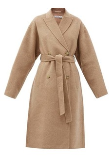 Acne Studios Double-breasted belted wool coat