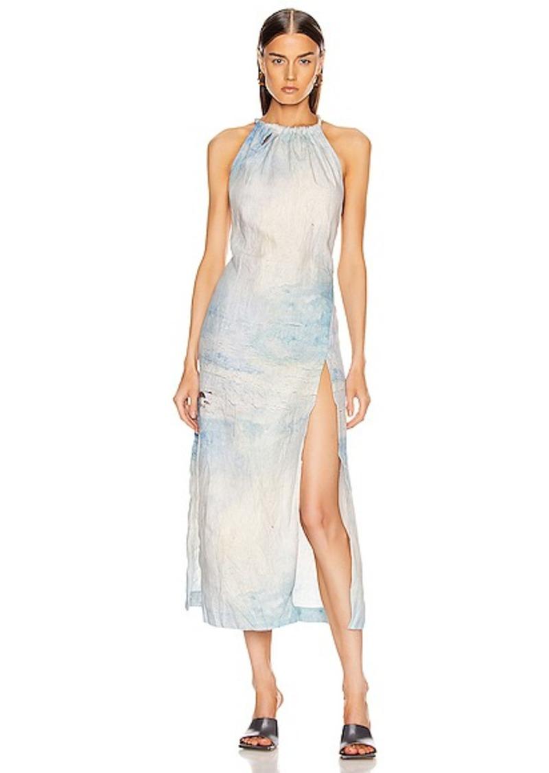 Acne Studios Drusilla Li Painting Dress
