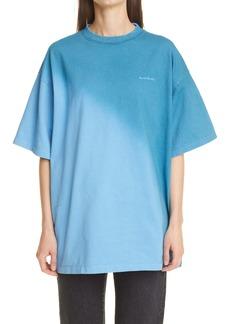Acne Studios Edra Sprayed Short Sleeve T-Shirt
