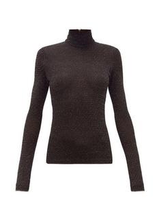 Acne Studios Elin metallic roll-neck sweater