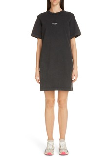 Acne Studios Elleni Stamp T-Shirt Dress