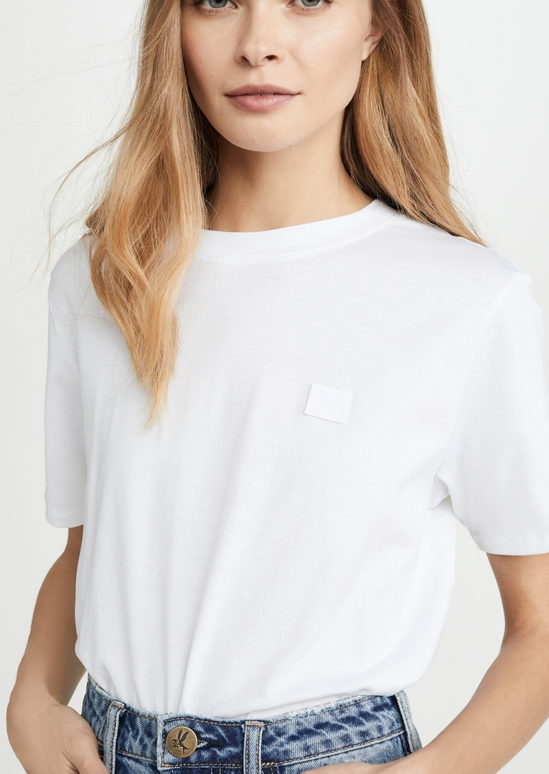 Acne Studios Ellison Face T-Shirt