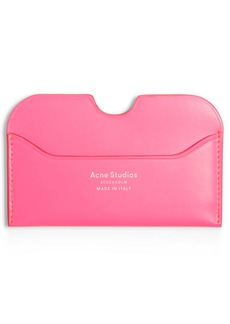Acne Studios Elmas Fluorescent Card Case