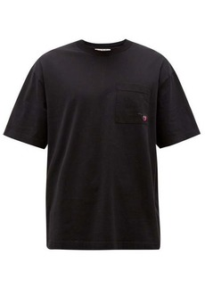 Acne Studios Extorr fruit-embroidered cotton-jersey T-shirt