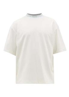 Acne Studios Extorr logo-jacquard cotton-jersey T-shirt
