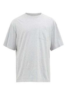 Acne Studios Extorr logo-tab cotton-jersey T-shirt