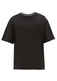 Acne Studios Extorr logo-neck jersey T-shirt