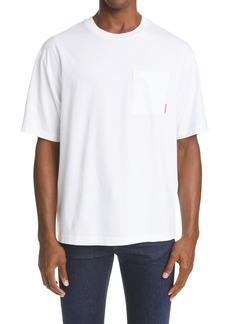 Acne Studios Extorr Pink Label Organic Cotton T-Shirt