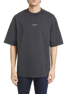 Acne Studios Extorr Stamp Oversize Logo T-Shirt