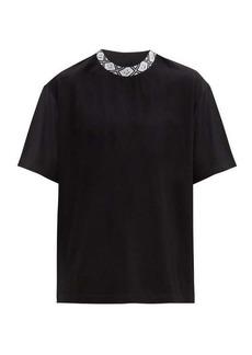 Acne Studios Face-logo crew-neck T-shirt