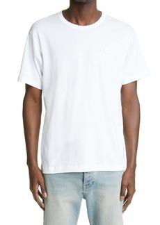 Acne Studios Face Patch Organic Cotton Men's T-Shirt