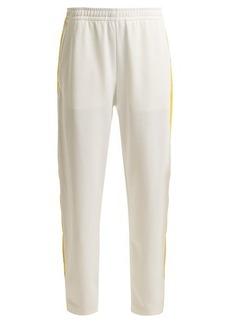 Acne Studios Face side-stripe jersey track pants