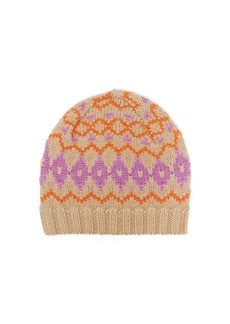 Acne Studios Fair Isle wool hat