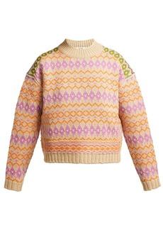 Acne Studios Fair Isle wool sweater