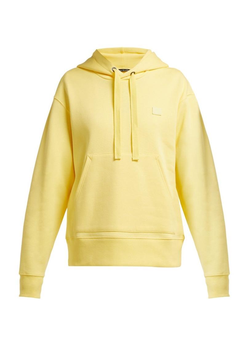 715de29c Acne Studios Acne Studios Ferris Face cotton hooded sweatshirt ...