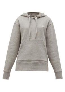 Acne Studios Ferris Face logo-patch cotton hooded sweatshirt