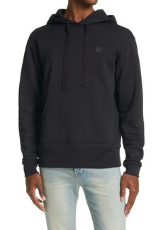 Acne Studios Ferris Face Patch Men's Cotton Hoodie