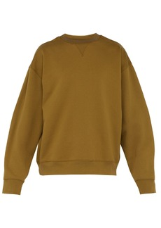 Acne Studios Flogho crew-neck cotton sweatshirt