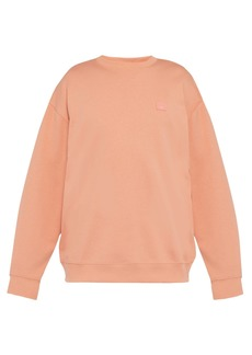 Acne Studios Forba face cotton sweatshirt