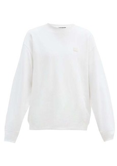 Acne Studios Forba Face oversized cotton-jersey sweatshirt