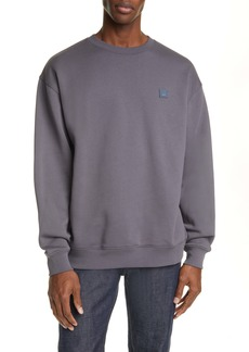 Acne Studios Forba Face Patch Crewneck Sweater