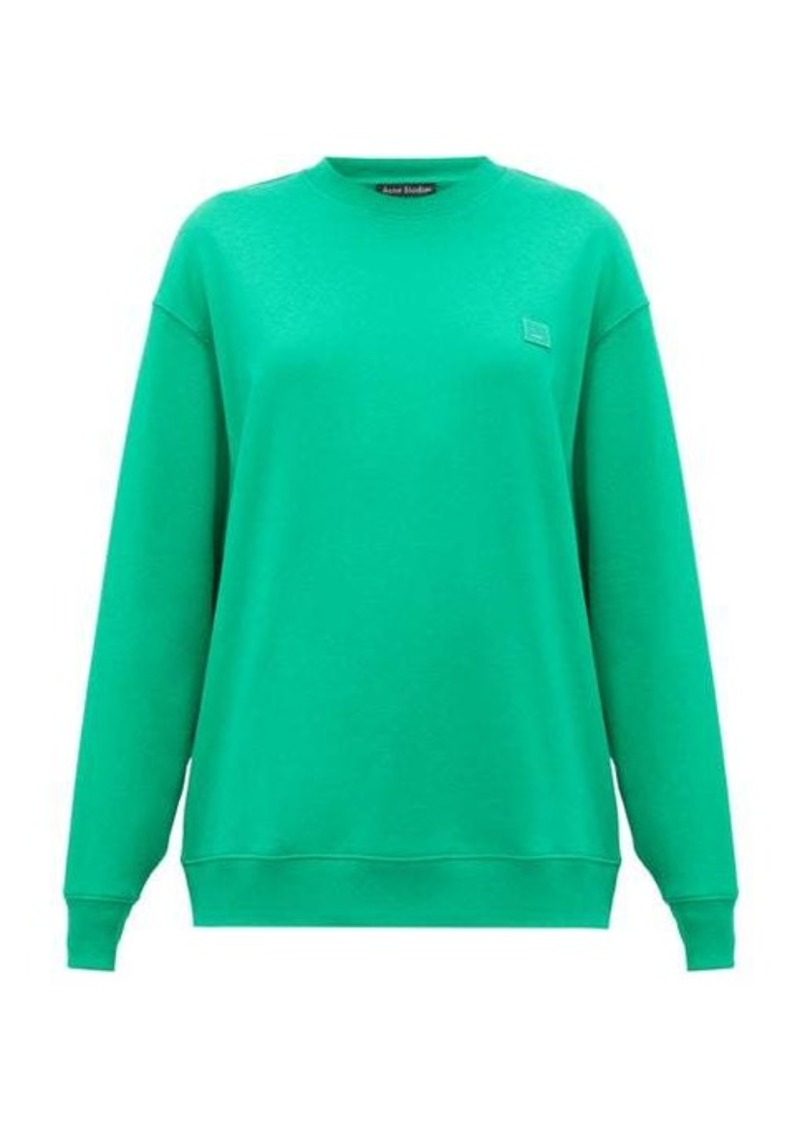 Acne Studios Forbra Face cotton sweatshirt