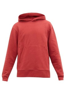 Acne Studios Forres cotton-blend hooded sweatshirt